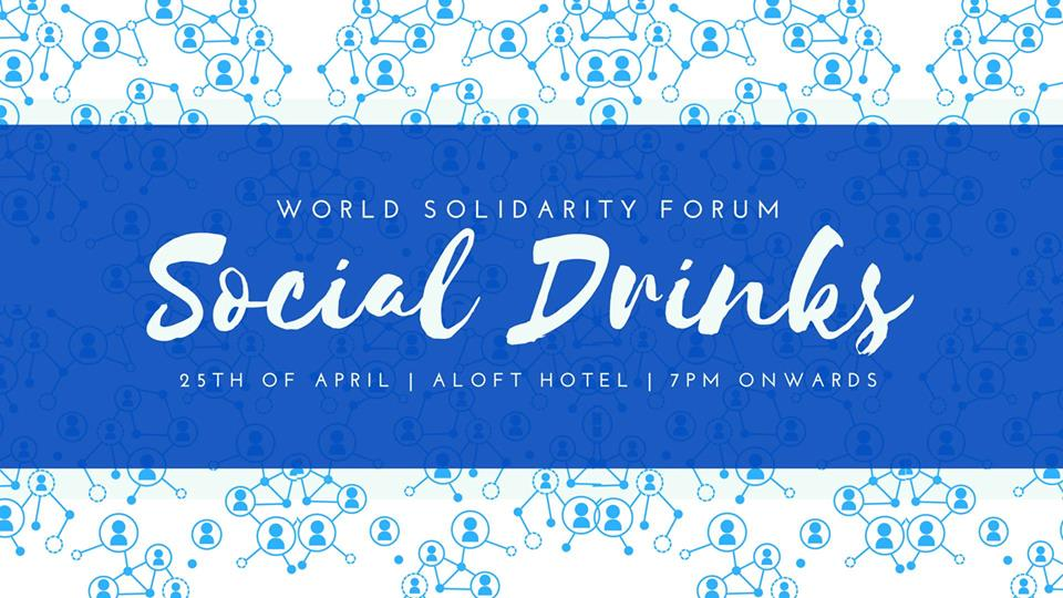 WSF Social Drinks – April 2018