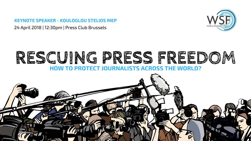 Rescuing Press Freedom: How to Protect Journalists in the World?